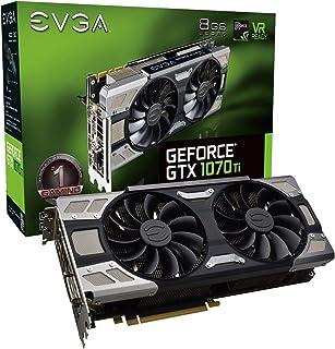 EVGA GeForce GTX 1070 Ti FTW ULTRA SILENT GAMING, 8GB GDDR5, ACX 3.0 & RGB LED Graphics Card 08G-P4-6678-KR