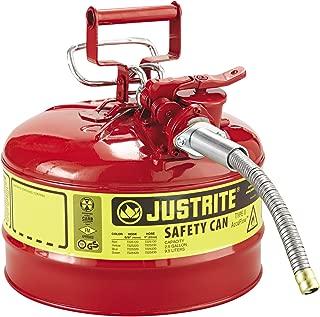Justrite 7225120 AccuFlow 2.5 Gallon, 11.75