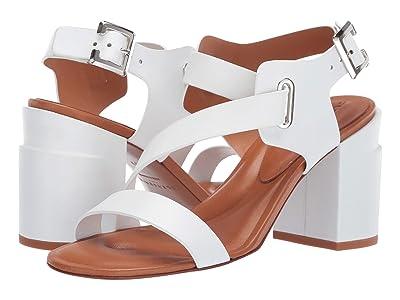 Clergerie Alba (White Calf) High Heels