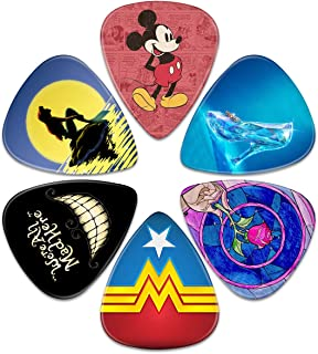 Guitar Picks – Surmoler 6 Pack Universal Plastic Guitar Picks for Acoustic and Electric Guitar (my love)