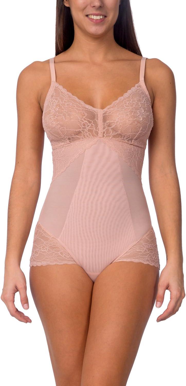 Body Beautiful Hooked On Lace Adjustable Strap Mesh Bodysuit (bluesh, Small)