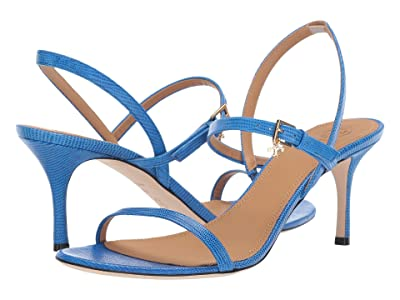 Tory Burch 65 mm Penelope Slingback Sandal (Bright Tropical Blue) Women