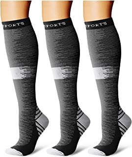 Compression Socks,(3 Pairs) Compression Sock Women & Men...