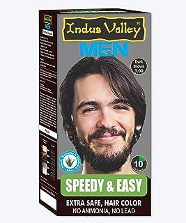 Indus Valley Speedy & Easy Hair Color Dark Brown 3.0 (Effect in 10 minutes)