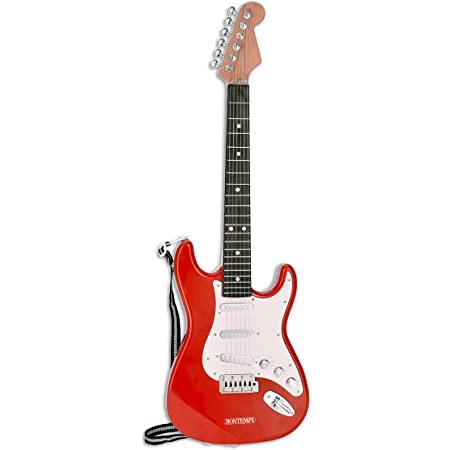 Bontempi- Guitare, 241300, Rouge