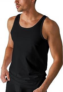 Mey 46000-123 Men's Dry Cotton Black Solid Colour Tank Vest Top 3XLarge (Brand Size 9)