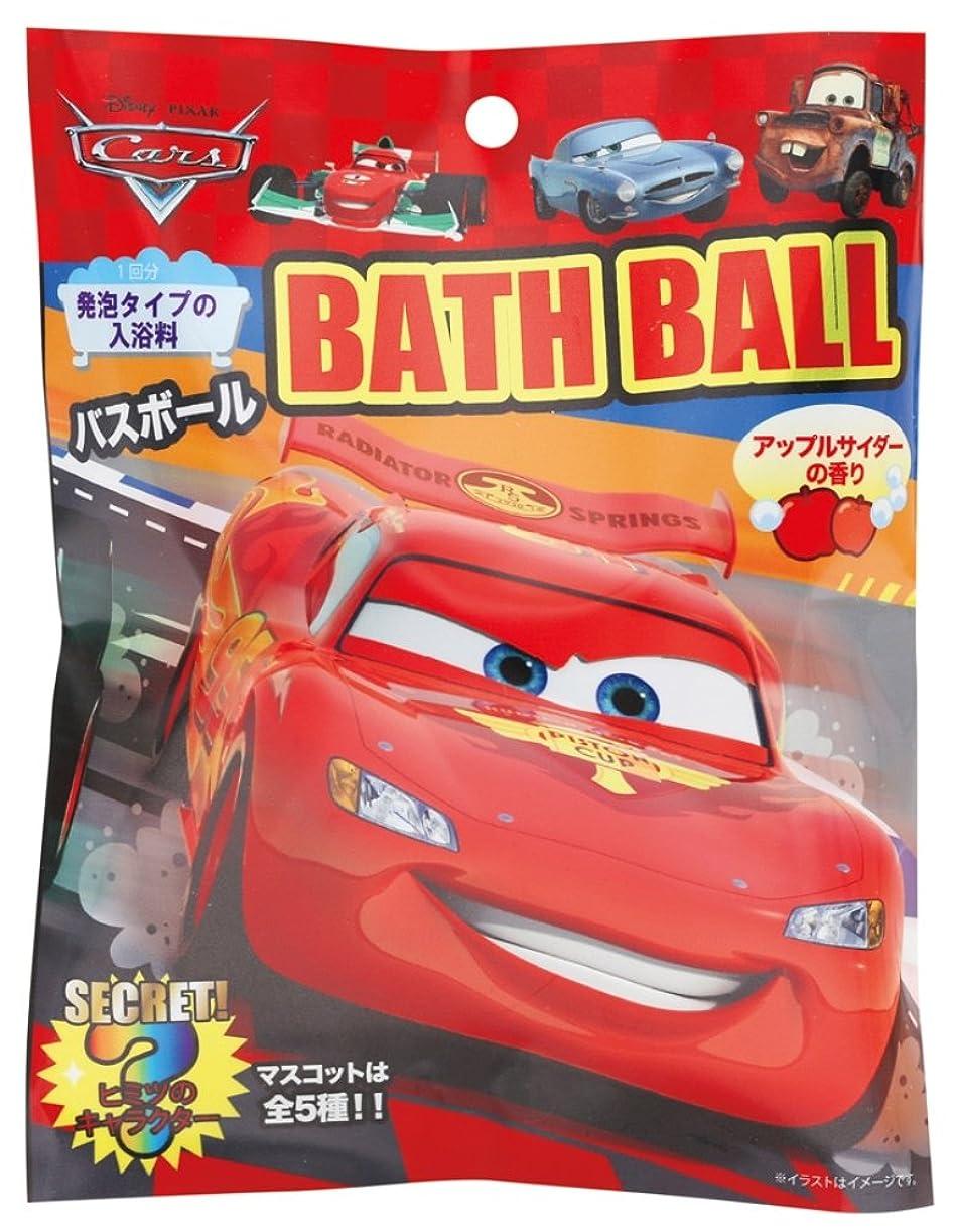 宣教師製作原告ディズニー 入浴剤 カーズバスボール おまけ付き DIP-79-01