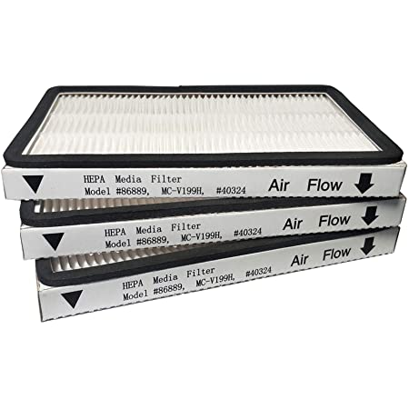 2 Pack HEPA Filters with Foam Filters For Kenmore EF-1 Compares to Model 86889
