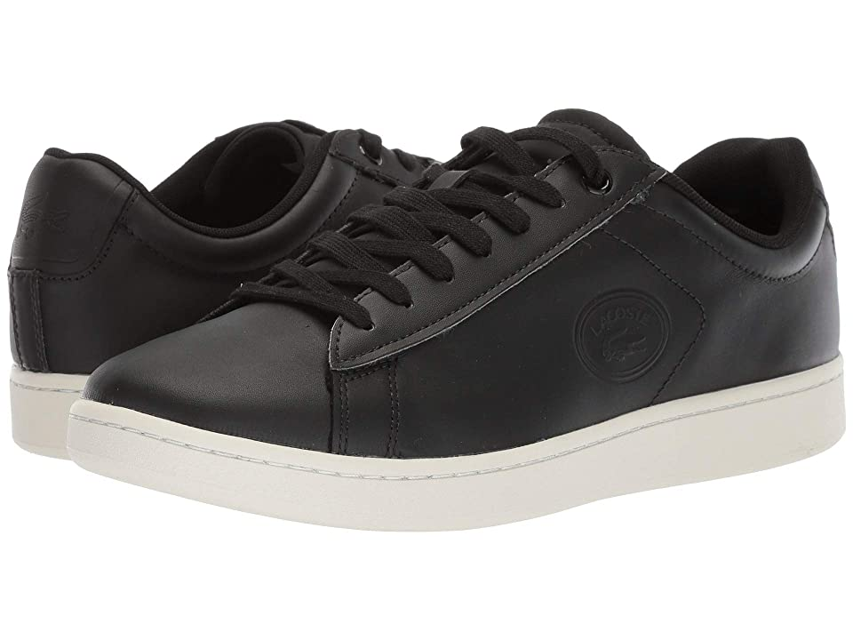 Lacoste Carnaby Evo 418 2 (Black/Off-White) Men