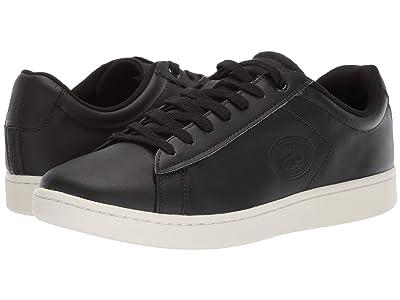 Lacoste Carnaby Evo 418 2 (Black/Off-White) Men