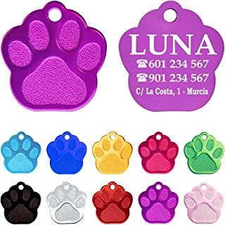 Amazon.es: placas para perros