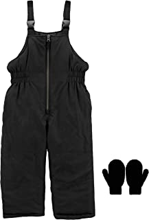 Carter's Snow Pants Toddler 2T-4T and Boys 4-7 Snow Bib Ski Pants Mittens Or Gloves