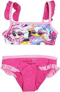 302650497f Disney Costume da Bagno Bambina Minnie Mouse Mare e Piscina, Bikini Bimba -  1731