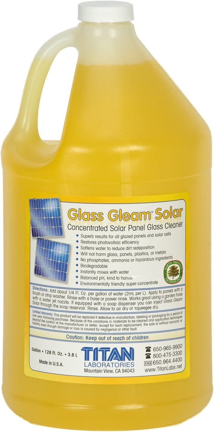 Glass Gleam Solar Cleaner