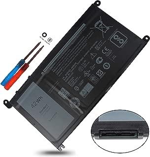 WDXOR WDX0R Y3F7Y 42Wh Battery Compatible with Dell Inspiron 7579 13 15 17 5000 7000 5368 5378 5379 7368 7378 7460 5565 5567 5568 5578 7560 7570 7569 5765 5767 5770,3CRH3 03CRH3 P58F T2JX4 FC92N CYMGM