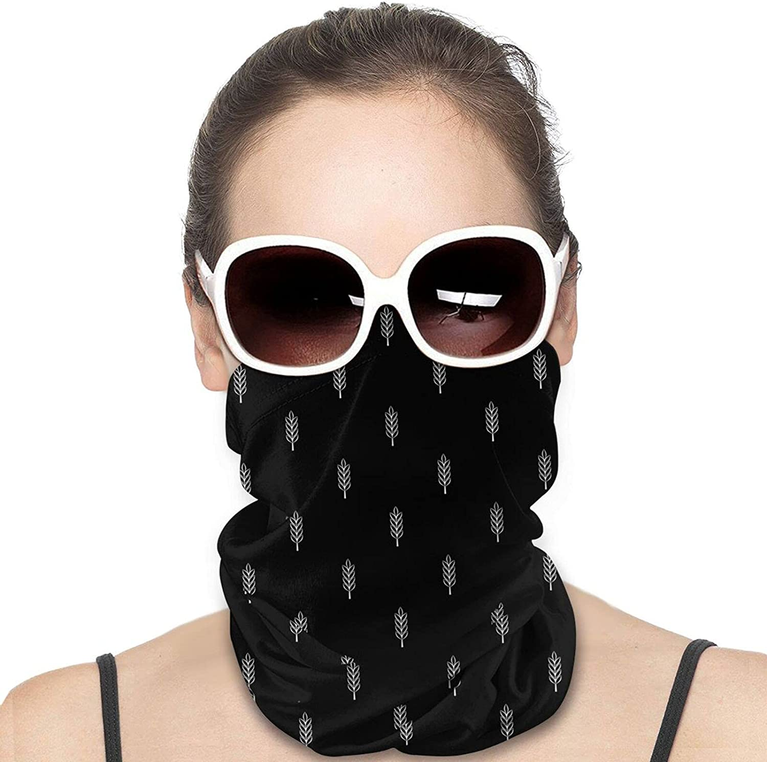 Wheat Spikes Round Neck Gaiter Bandnas Face Cover Uv Protection Prevent bask in Ice Scarf Headbands Perfect for Motorcycle Cycling Running Festival Raves Outdoors