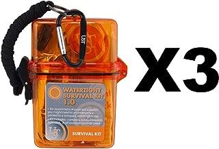 Ultimate Survival Technologies 20-727-01 Watertight Survival Kit 1.0, Orange
