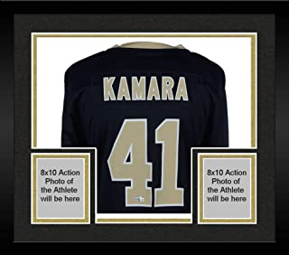 Framed Alvin Kamara New Orleans Saints Autographed Nike Black Game Jersey - Fanatics Authentic Certified