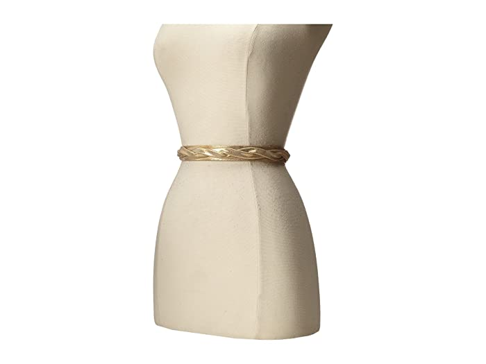 ADA Collection Skinny Wrap Belt (Gold) Women