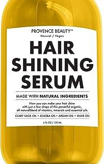 Pelo brillo brillante Suero–Realzando aceite hecho con ingredientes naturales–4fl oz | PROVENCE belleza