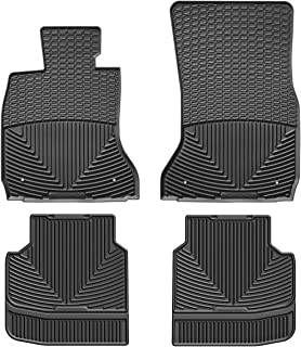 Kagu Rubber Models Black F01// F02// F04 3D MAXpider Front Row Custom Fit All-Weather Floor Mat for Select BMW 7 Series