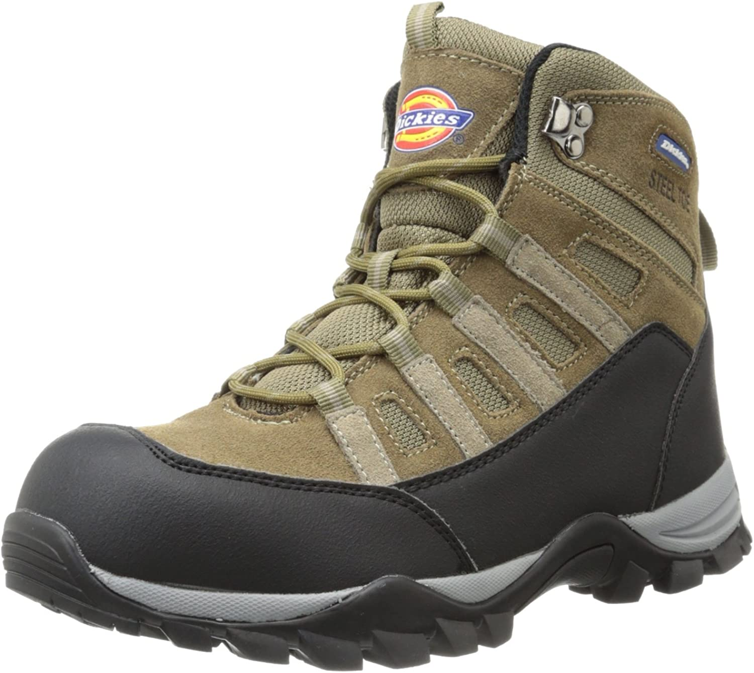 Dickies Men's Escape Hiker 6 Inch Steel-Toe Work Stiefel,braun,10 M US
