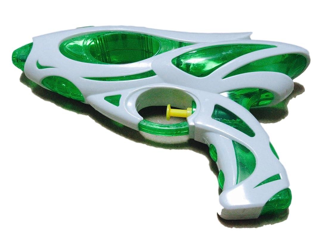 あたたかいコンクリート弁護士水鉄砲 ウォーターガン 子供用 おもちゃ 風呂 遊び プール 海 水 こども 小型 緑 色 グリーン カラー リアル アウトドア (ピストル 緑)