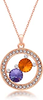 Wild Charm - Manufacturers Imported Austrian Crystal Necklace Pendant Jewelry high-end Jewelry