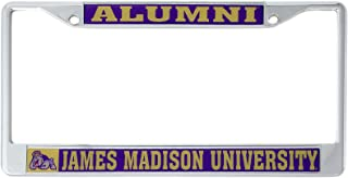 Desert Cactus James Madison University JMU Dukes NCAA Metal License Plate Frame for Front Back of Car Officially Licensed (Alumni)