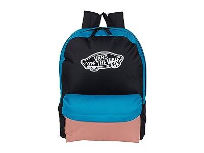 Vans Realm Backpack (Enamel Blue/Black) Backpack Bags