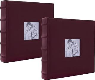 Álbum Fotográfico para 400 Fotos, Paquete de 2 Álbum (