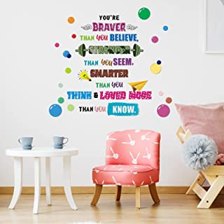 Inspirational Quote Growing Wall Sticker WS-51578