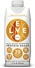 Evolve Protein Shake, Toasted Almond, 20g Protein, 11 Fl Oz (Pack of 12)