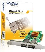 High Point Rocket 2722 External 8-Port PCI-Express 2.0 x8 SAS/SATA 6Gb/s Non-RAID Controller