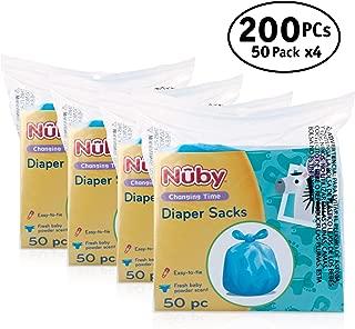 Nuby Diaper Bags, 200 Pack