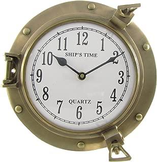 Best brass nautical clocks Reviews