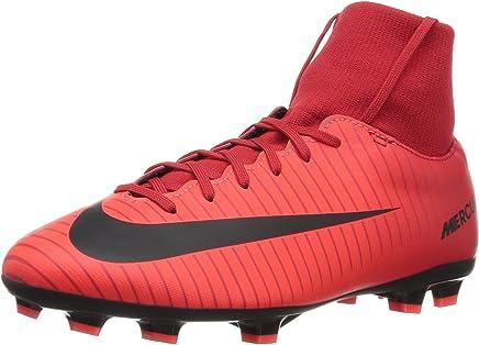 Schwarze Nike Fußballschuhe mit Socke