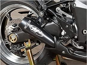 M4 10-13 Kawasaki Z1000 GP Series Slip-On Exhaust (Black)