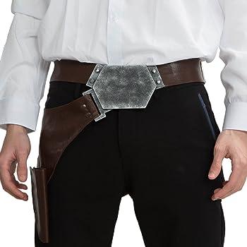 PandaCos Star Wars cinturón de Han Solo Belt con Holster Deluxe ...