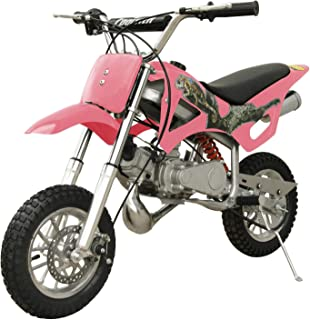 DB49A 49CC 50CC 2-STROKE GAS MOTOR MINI DIRT PIT BIKE (Pink) DB49A
