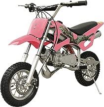 DB49A 49CC 50CC 2-STROKE GAS MOTOR MINI DIRT PIT BIKE (Pink) DB49A