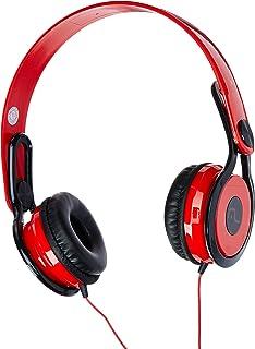 Fone De Ouvido Multilaser Headphone 360 Vermelho P2 - PH083