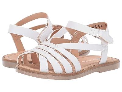 Kid Express Blair (Toddler) (White Combo) Girls Shoes