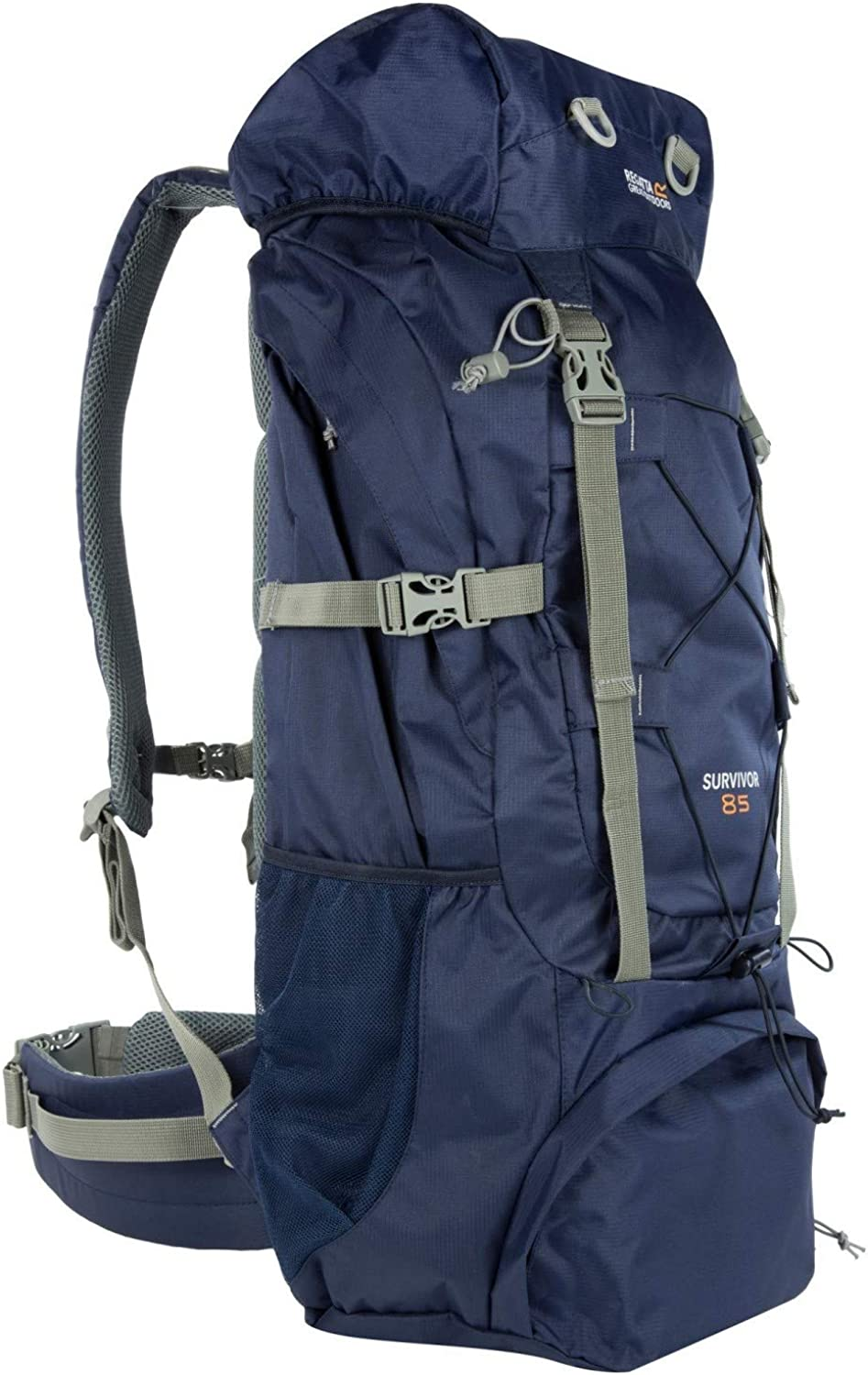 Regatta Great Outdoors Survivor III 85 Liter Rucksack (Einheitsgre) (Marineblau)