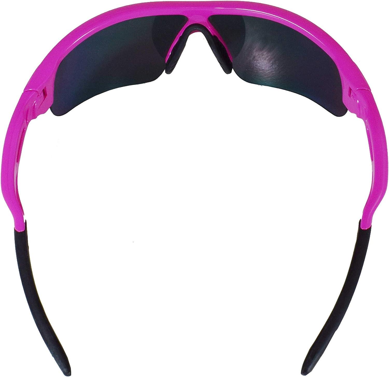 klar Linse Sport VeloChampion Warp Rahmen Sonnenbrille mit 3 Linsen gelb Radsport-Sport austauschbar Radfahren