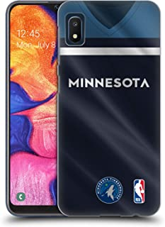 Official NBA Road Jersey 2018/19 Minnesota Timberwolves Hard Back Case Compatible for Samsung Galaxy A10e (2019)