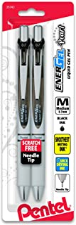 Pentel EnerGel Deluxe RTX Retractable Liquid Gel Pen 2 Pack