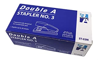 Double A ST-03M Stapler with Staples