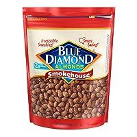 Blue Diamond Almonds Smokehouse Flavored Snack Nuts 40Oz