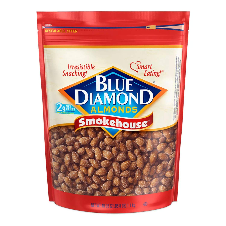 Blue Diamond 40oz Smokehouse Almonds Resealable Bag $7.78 Coupon
